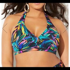 ⚡️NWT⚡️Swimsuits for all Halter Bikini Top